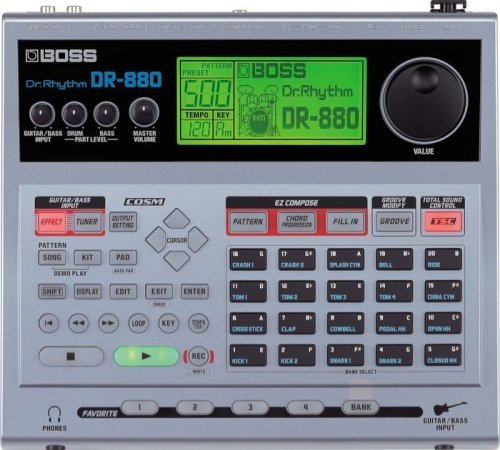 Cheapest Price! Boss DR-880 Dr. Rhythm Drum Machine