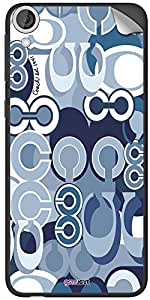 GsmKart HD820 Mobile Skin for HTC Desire 820 (Blue, Desire 820-539)