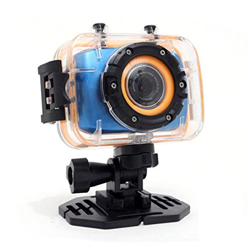 Towallmark(Tm)1080P 2.0 Inch Mini Touch Screen Sports Action Camera Digital Camcorder With Waterproof Case Blue