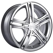 Sacchi S62 262 Hyper Silver Wheel with Machined Face (16×7″/10x120mm)
