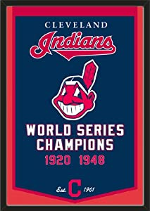 Dynasty Banner Of Cleveland Indians-Framed Awesome & Beautiful-Must For A... by Art and More, Davenport, IA