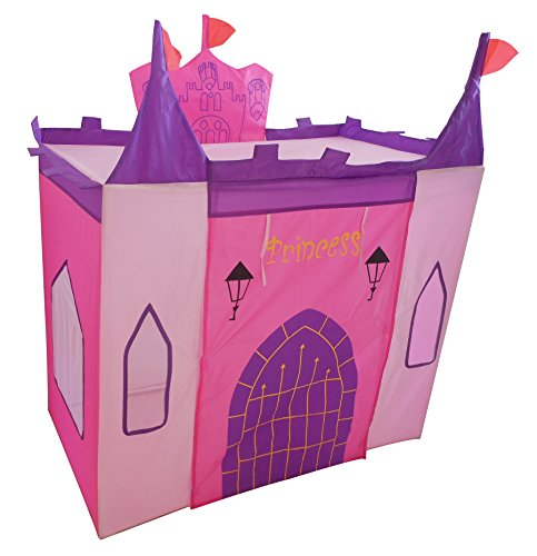 Kids Adventure Enchanted Princess Castle Playhouse, Pink front-11870
