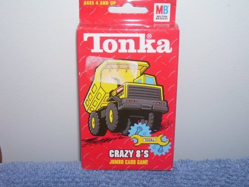 Tonka Crazy 8's Jumbo Card Game