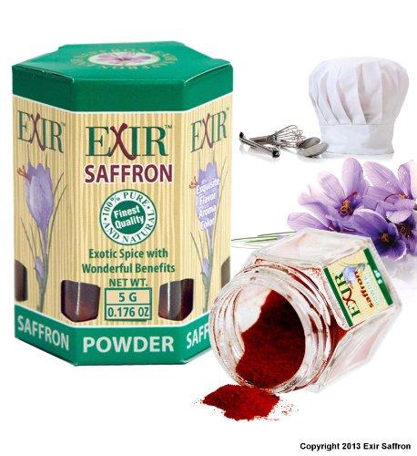 Organic Saffron Powder 5-grams (0.173-oz)