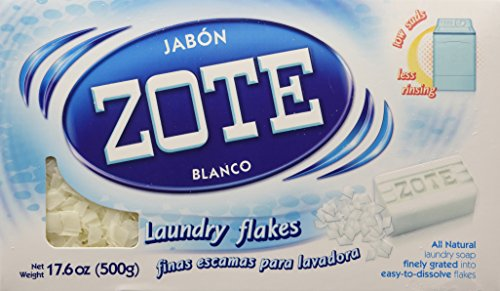 La Corona Jabon Zote Blanco Finas Escamas Para Lavadora (Laundry Flakes For Washiing Machines), 17.6 Oz., (Pack Of 1)