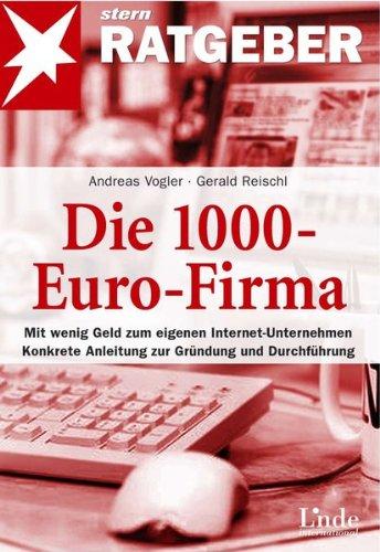 Die 1000-Euro-Firma, Buch