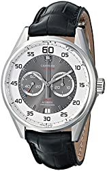 TAG Heuer Men's THCAR2B11FC6235 Carrera Analog Display Swiss Automatic Black Watch