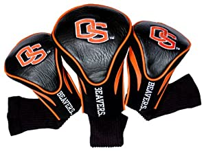 NCAA Oregon State Beavers 3 Pack Contour Golf Club Headcover by Team Golf