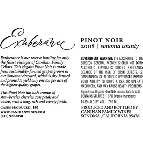 Canihan Family Vineyards Pinot Noir