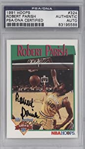 Robert Parish PSA DNA Certified Auto AUTHENTICATED AUTHENTIC Golden State Warriors... by NBA Hoops