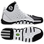 Adidas Q33230 Rose 773 II Men's Basketball Shoes (White/Black)
