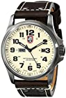 Luminox Men's 1927 Atacama Stainless Steel Watch with Brown Leather Band
