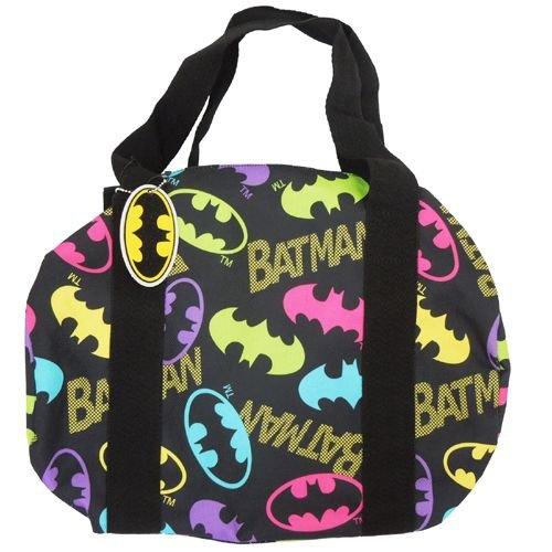 バットマン/BATMAN《カラフルバットマン》ロールバッグ(斜め掛けかばん) アメコミキャラクターグッズ