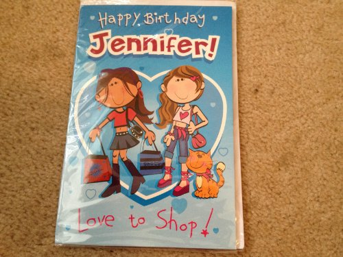 Happy Birthday Jennifer - Singing Birthday Card