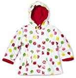 Kids Headquarters Baby-girls Infant Pleather Outerwear Jacket, White/Red, 24 Months