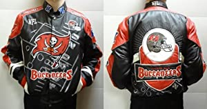 Tampa Bay Buccaneers Leather Jacket by Park