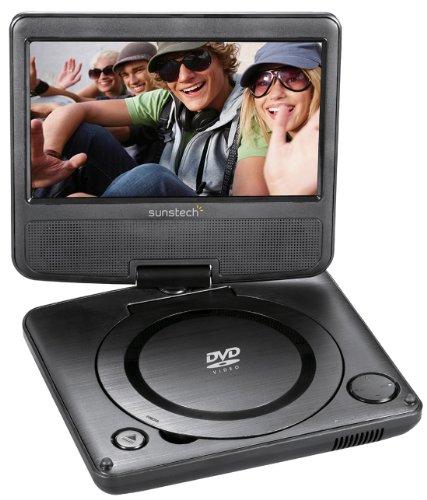 Sunstech DLPM728BK Lecteur DVD portable Noir