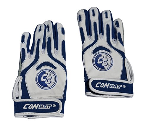 Combat Team Combat Baseball Batting Gloves Navy Youth Large (Slow Pitch Batting Gloves compare prices)