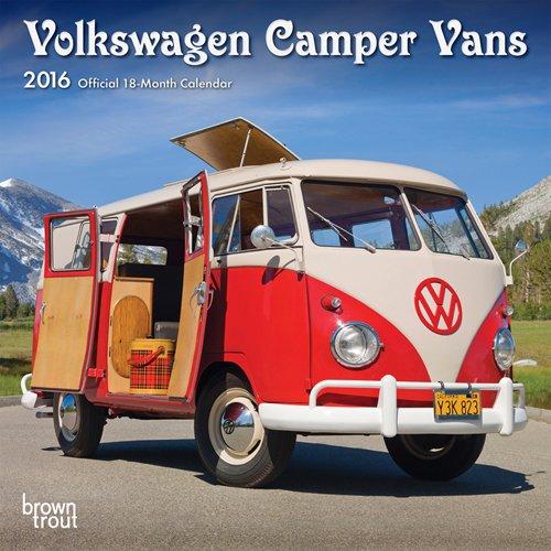 Volkswagen Camper Vans 2016 Mini Wall