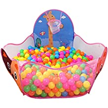 Alcoa Prime New Large Portable Foldable Children Kids Pop Up Adventure Ocean Ball Play Tent Indoor Outdoor Playhouse...