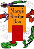 img - for By Mary Gubser Mary's Recipe Box (1st First Edition) [Paperback] book / textbook / text book