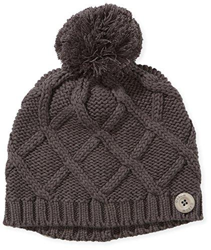Oxbow, Cappellino lavorato a maglia Donna, Grigio (Anthracite Chine), Taglia unica
