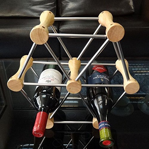 winerack-wineracks-wine-racks-wine-rack-european-stainless-steel-wine-rack-fashion-creative-diy-wood