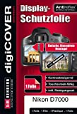 DigiCOVER Premium LCD Screen Protection Film for Nikon D7000