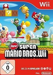 Amazon: New Super Mario Bros. für Nintendo Wii nur 26,99 Euro inkl. Versand