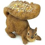 Gifts & Decor Woodland Brown Squirrel Outdoor Birdfeeder (Discontinued by Manufacturer)