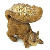 Gifts & Decor Woodland Brown Squirrel Outdoor Birdfeeder thumbnail
