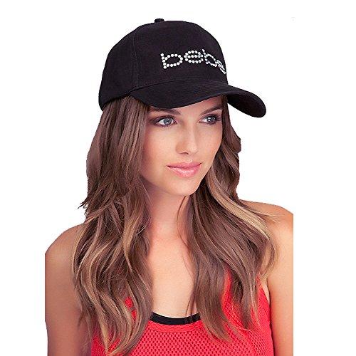 bebe-baseball-cap-hat-swarovski-crystals-logo-rhinestone-cotton-black-224708