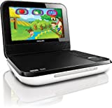 Philips PD703/37 7-Inch LCD Portable DVD Player with Wireless Game Controller, White (Discontinued by Manufacturer)
