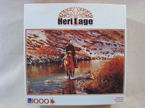 Heritage 1000 Piece Jigsaw Puzzle: October Sun