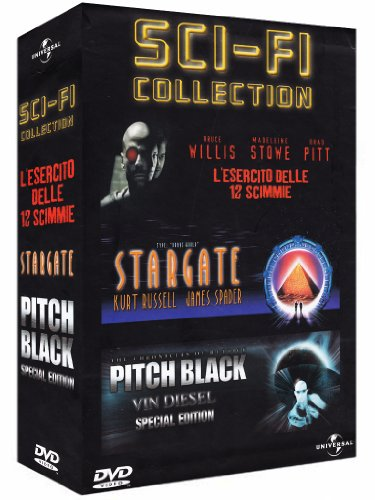 Sci-fi collection - L'esercito delle 12 scimmie + Stargate + Pitch black [3 DVDs] [IT Import]