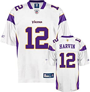Reebok Minnesota Vikings Percy Harvin Youth (8-20) Replica White Jersey Small by Reebok