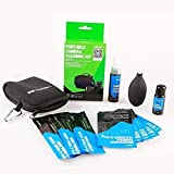 Professional Camera Cleaning Kit, Air Blower, Sensor Cleaning Swab, Microfiber Cleaning Cloth, Lens Cleaning, Camera Screen Cleaning + Pouch for DSLR Cameras (Canon, Nikon, Pentax, Sony DC515)