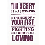 Your Heart is a Weapon the Size of Your Fist by Pure Evil (Limited Edition) - Purple