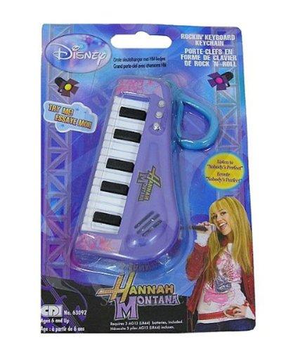 Disneys Hannah Montana Rockin Keyboard Keychain - 1