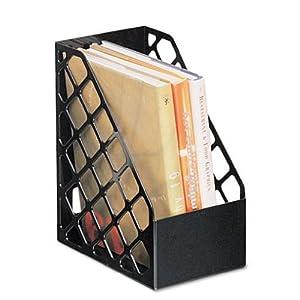 Universal® Recycled Plastic Large Magazine File