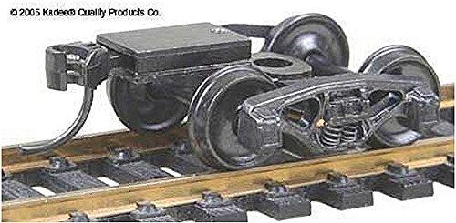"""HO Bettendorf Trk w/Coupler, 33"""" Smth Wheel (1pr) - 1"""