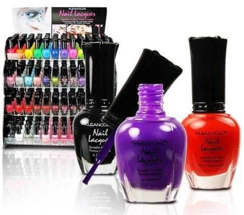 Wholesale Klean Color Nail Polishes/Nail lacquer Case Pack 144