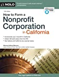 img - for How to Form a Nonprofit Corporation in California book / textbook / text book
