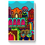 PosterGuy Poster - Windows Of India Windows, India, Quirky, Colorful, Architectural (A4)