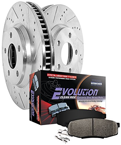 Power Stop K1364-26 1-Click Street Warrior Z26 Brake Kit