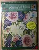 One Stroke Roses of All Kinds with DVD By Donna Dewberry