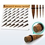 Special Gift Body Jewellery Coconut Wood Tapers with 'O