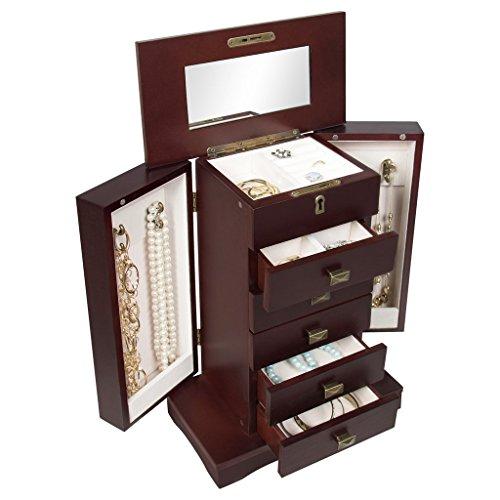 organizer-leather-jewelry-box-and-jewelry-watch-storage-with-mini-travel-case-and-keys