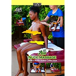 Nude Massage featuring Alli - a Nude-Art Film