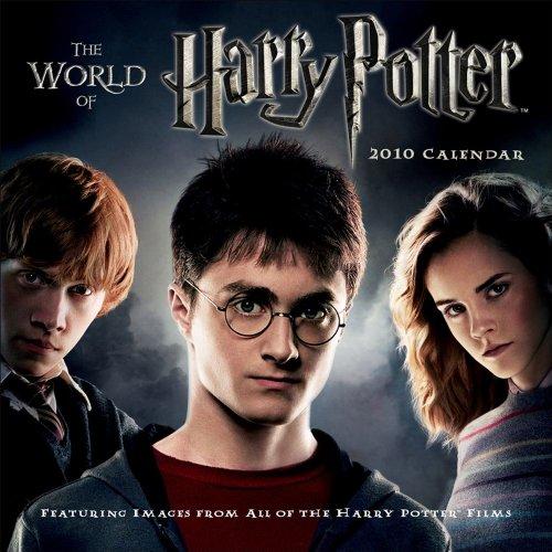 Harry Potter, The World Of: 2010 Mini Wall Calendar